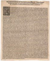 *Pope Alexander VI's Demarcation Bull, May 4, 1493, (Gilder Lehrman Institute of American History)*